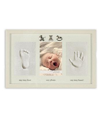 Bambino Baby Clay Hand and Footprint Frame | keepsakes, frames ...