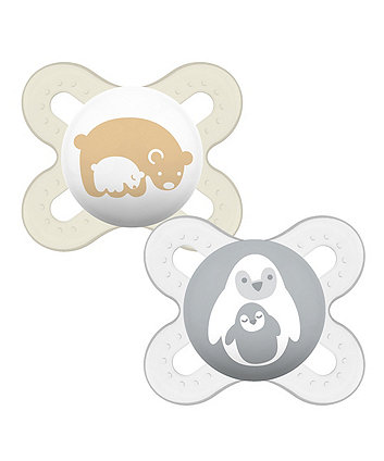 MAM Start 0-2 M Soother - 2 Pack