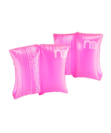 Mothercare Pink Baby Armbands - Birth - 2 years