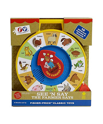 Fisher-Price Classic Toys The Farmer Says