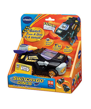 VTech Switch & Go Dinos Grando the Giganotosaurus