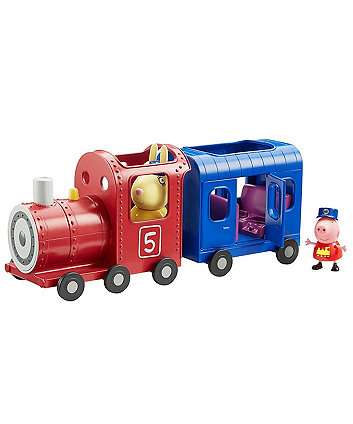 Peppa Pig Miss Rabbits Train and Carriage Set