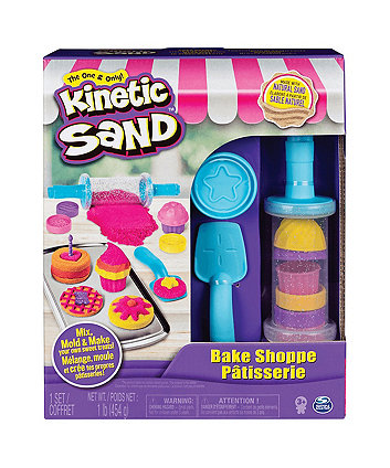 Kinetic Sand Bake Shoppe Patisserie Playset
