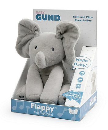 Baby Gund Plush Toy Flappy The Elephant