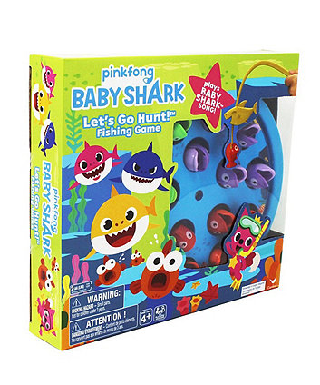 Pinkfong Baby Shark Let's Go Hunt Fishing Game Plays the Baby Shark Song