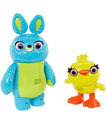 Disney Pixar Toy Story 4 Interactive True Talkers Bunny And Ducky
