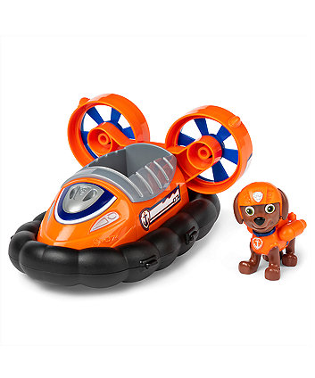 Paw Patrol Figure And Vehicle - Zuma And Hovercraft