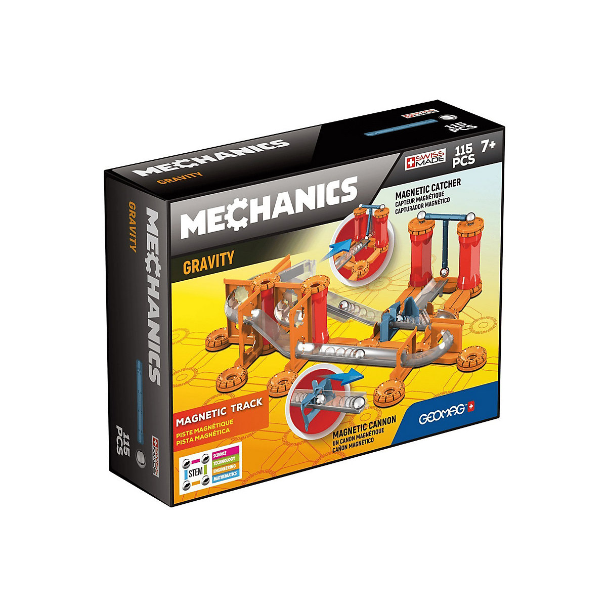 Geomag Gravity Magnetic Track - 115Pcs