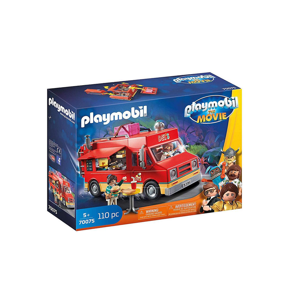 Playmobil 70075 Movie Dels Food Truck