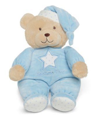 blue bedtime bear