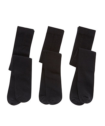Black Tights - 3 Pack
