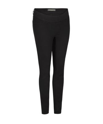 black under-the-bump skinny maternity jeans