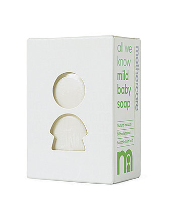 mothercare all we know mild baby soap
