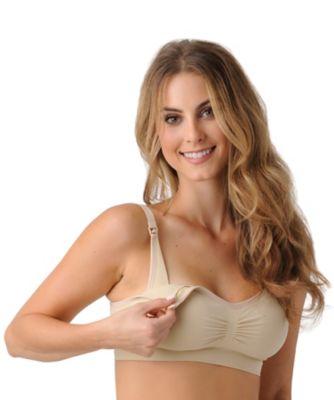 Breast milk big tits nursing bra