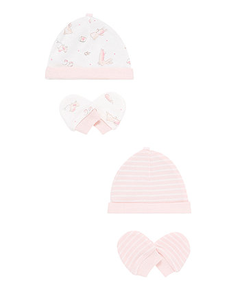 Premature Scratch Mitts and Hats – 4 pack  7e4d5e12e73