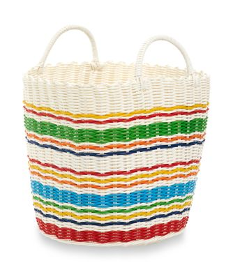 Little Bird Woven Plastic Basket