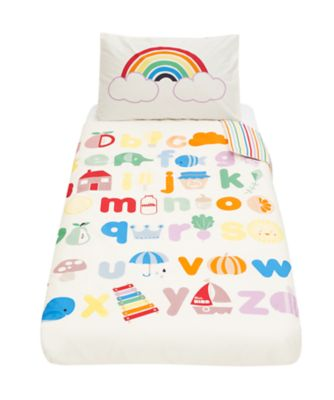 little bird cot bed duvet set