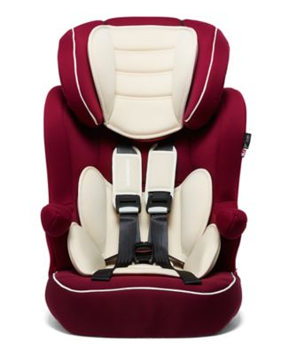 mothercare advance xp highback booster car seat - red