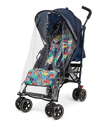 Mothercare Nanu Stroller - Blue Slogan