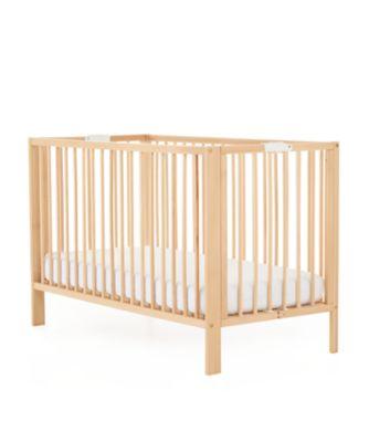 mothercare folding cot - beech