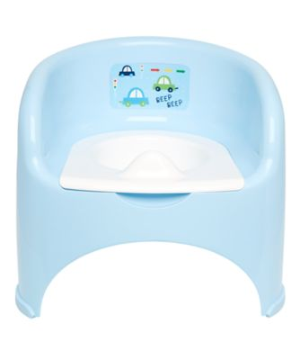 potty chair - blue