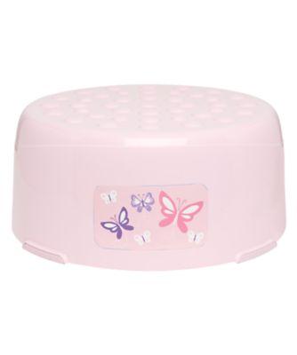 step stool - pink
