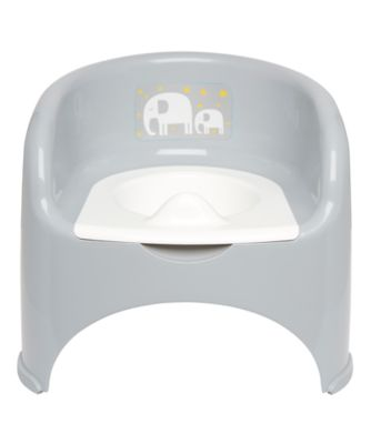 potty chair - grey