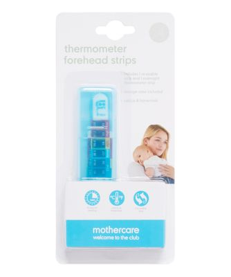 mothercare forehead thermometer strips