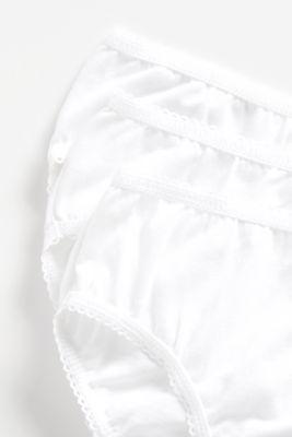White Briefs - 5 Pack