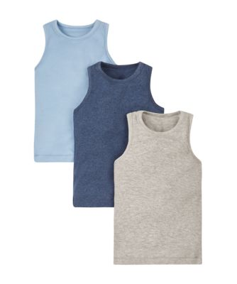 Blue and Grey Vests - 3 Pack