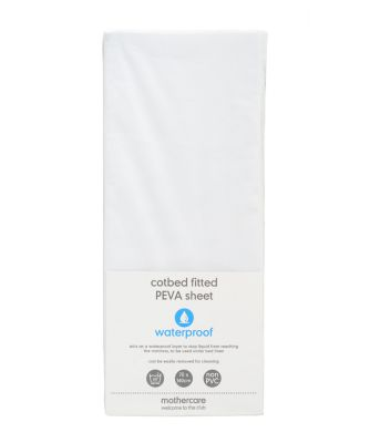 fitted cot bed waterproof mattress protector