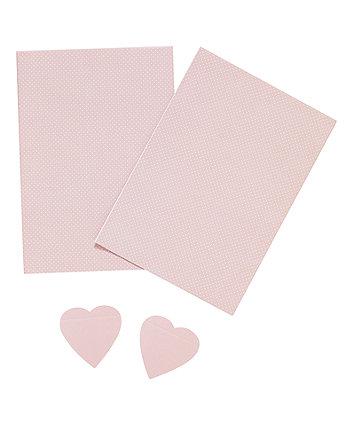 pink polka wrap