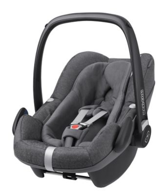 Maxi Cosi pebble plus isize baby car seat - sparkling grey