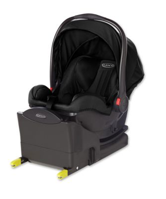Graco snugride i-size baby car seat with base – midnight black