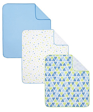 jersey swaddle blankets - 3 pack