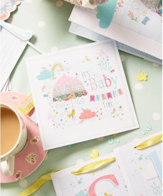 mothercare baby shower card
