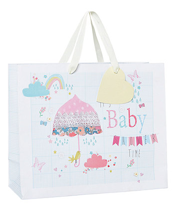mothercare baby shower time gift bag