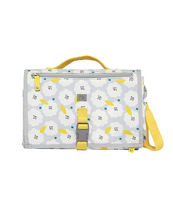 mothercare zinnia changing clutch - floral pop