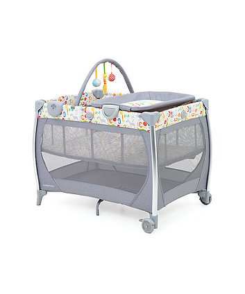 mothercare bassinet travel cot with changer and sounds unit - hello friend