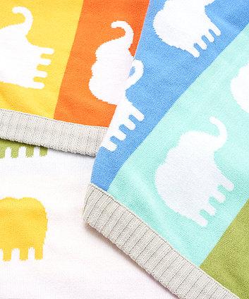 hello friend knitted blanket
