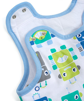 robots snoozie sleep bag 6-18 months 2.5 tog