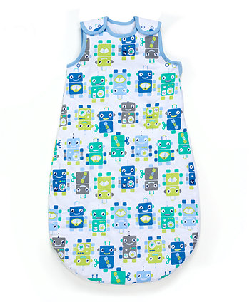 robots snoozie sleep bag 18-36 months - 2.5 tog