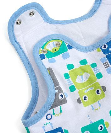 robots snoozie sleep bag 18-36 months - 2.5 tog
