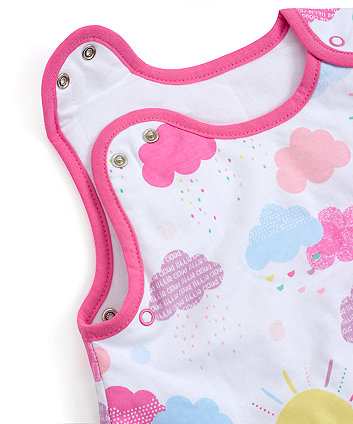 sunshine snoozie sleep bag 0-6 months 2.5 tog