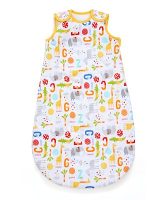 jungle 1.0 tog snoozie sleep bag 6-18 months