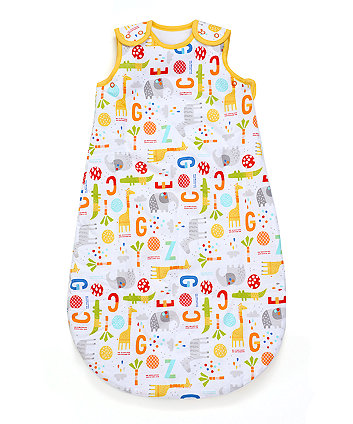 jungle snoozie sleep bag 0-6 months 2.5 tog