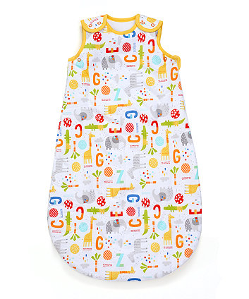 jungle snoozie sleep bag 6-18 months 2.5 tog