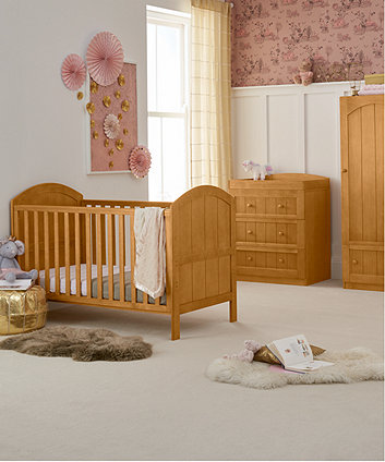mothercare marlow cot bed - antique