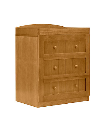 mothercare marlow three drawer changing unit - antique
