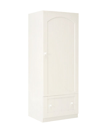 mothercare marlow single wardrobe - white